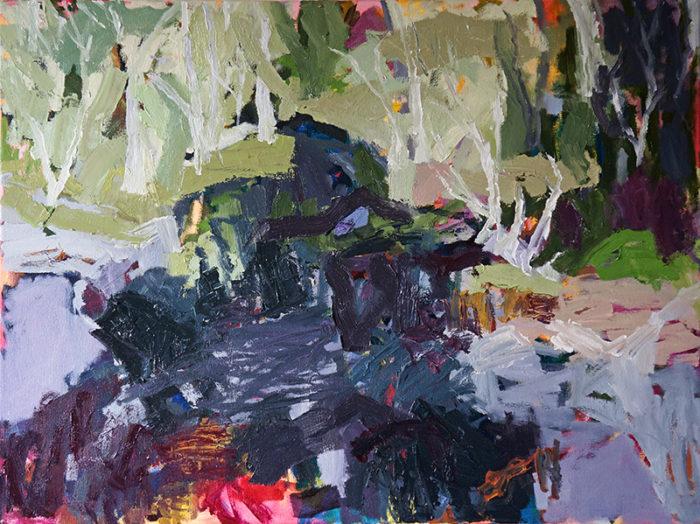 Ganguddy, Dunn's Swamp, landscape painting, Belinda Street, Australian artist